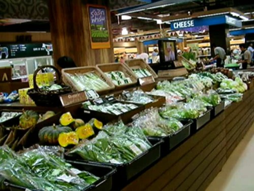 The First Vegetables & Herbs Oasis in Special Supermarket in THAILAND by RANGSIT FARM